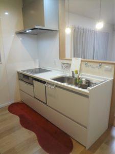 パナソニックリビングステーションVスタイルの2100キッチン