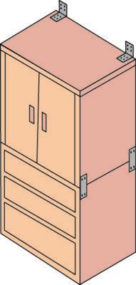 家具を固定している人は3割に満たない